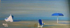 ombrellone blu