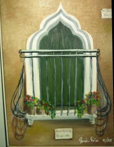 la tipica finestra veneziana