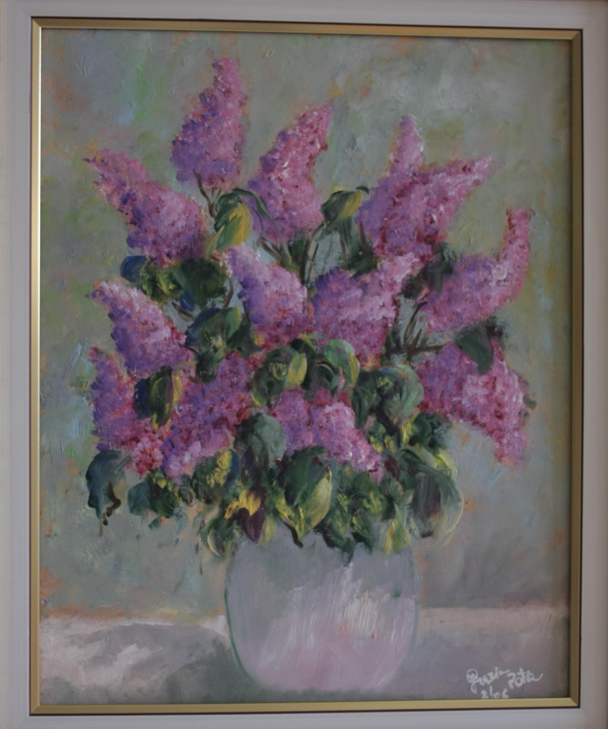 Pittura lisboantigua for Quadri a olio fiori