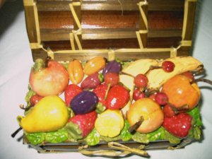 frutta in pasta di mais