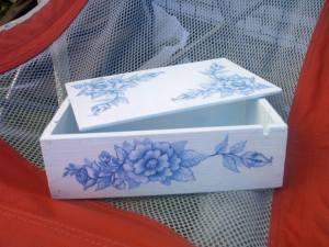 scatola azzurra