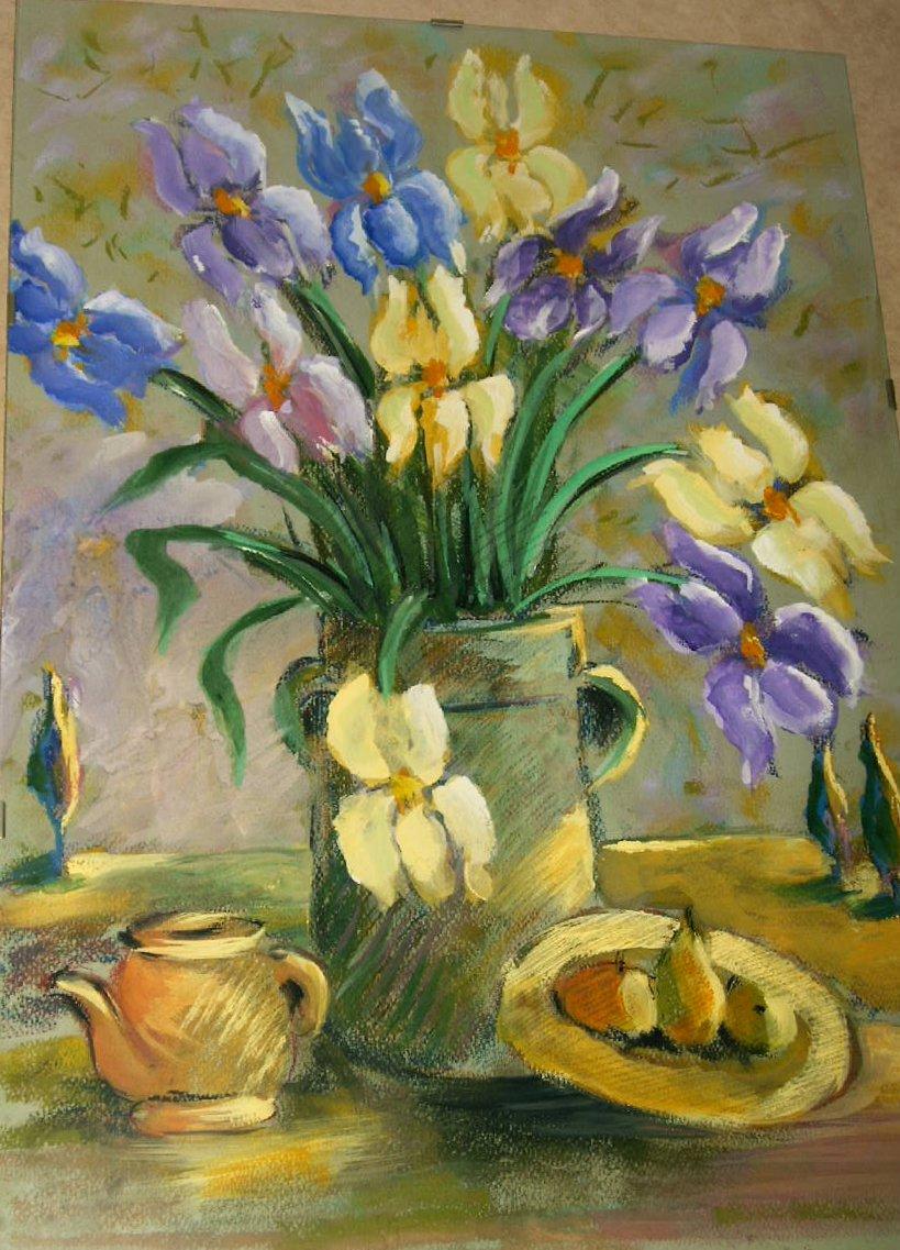 Fiori dipinti lisboantigua for Fiori di ciliegio dipinti
