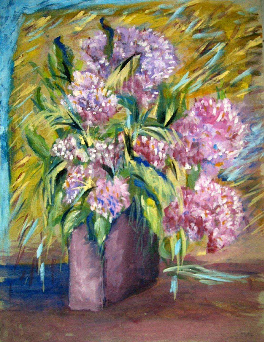 Vasi di fiori dipinti lisboantigua for Immagini di fiori dipinti