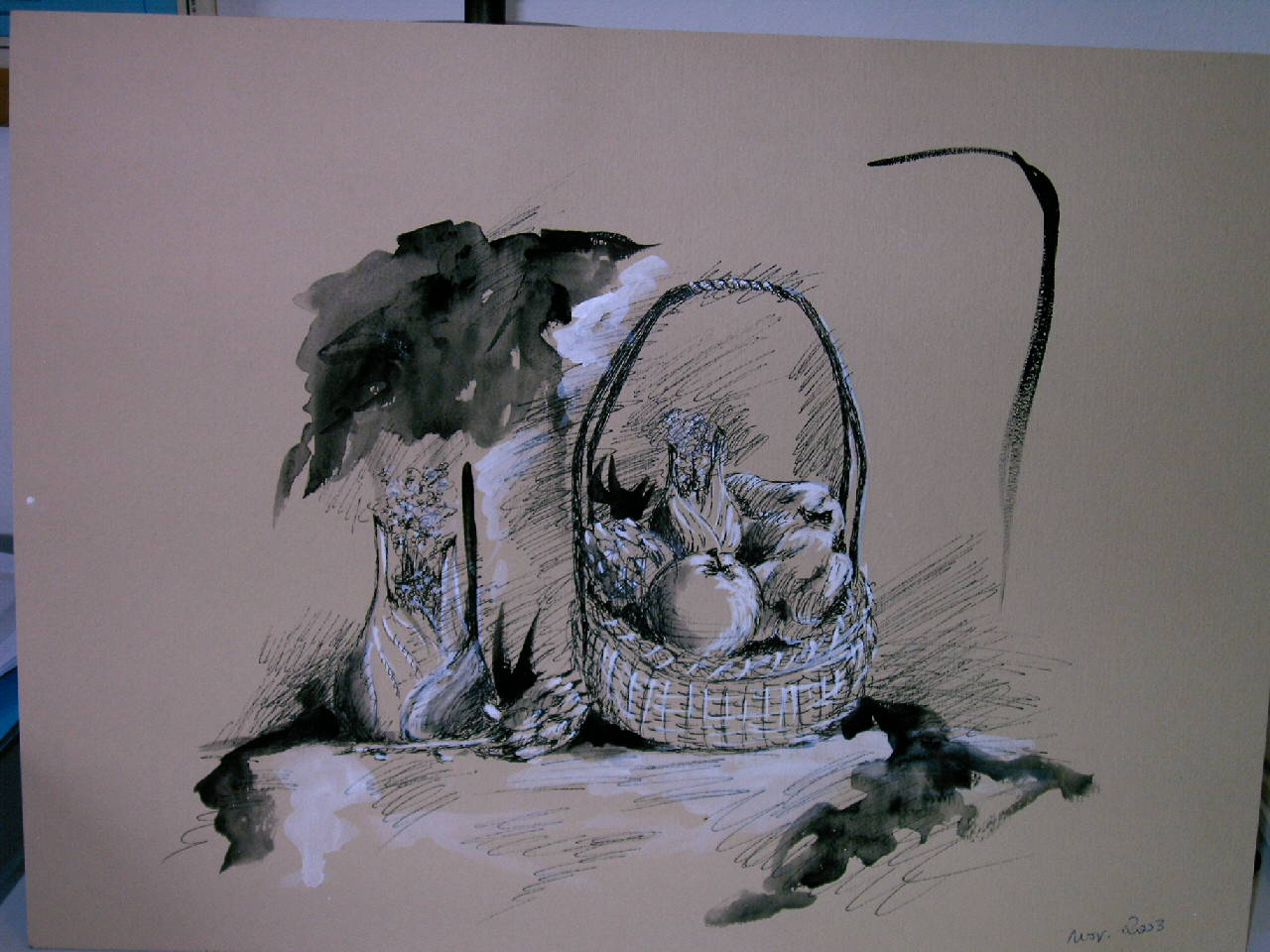 Pittura lisboantigua for Disegni bianco e nero paesaggi
