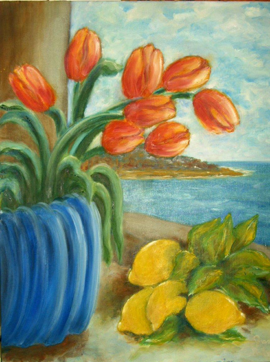 Paesaggi lisboantigua for Quadri facili da dipingere
