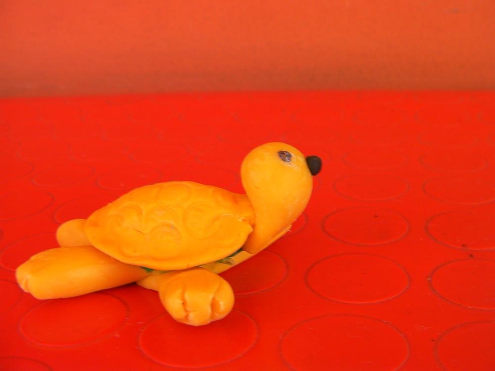 pasta di mais (3): tartaruga e porcellino (4/6)